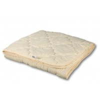 Одеяло легкое овечья шерсть 140x205
