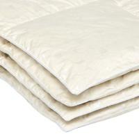 """Одеяло с гусиным пухом в тике """"Камелия"""" 200x220"""