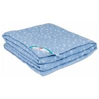 Одеяло с иск. лебяжьим пухом в сатине детское «Леди Лель» 110x140
