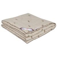 Одеяло с верблюжьей шерстью в тике «Леди Верби» 140x205