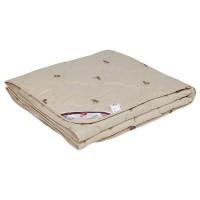 Одеяло с верблюжьей шерстью в тике детское легкое «Леди Верби» 110x140