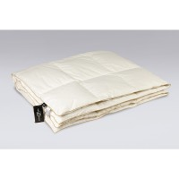 Одеяло с гусиным пухом в батисте «Сандман» 140x205