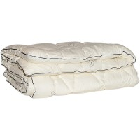 Одеяло иск. лебяжий пух в тике облегченное 172x205